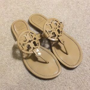 Tory Burch Miller Sandal Sand